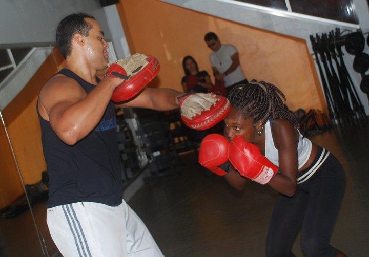 Bancando a boxer com Geninho, na Triathlon